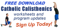 FREE Catholic Calisthenics Download and Email Sign Up