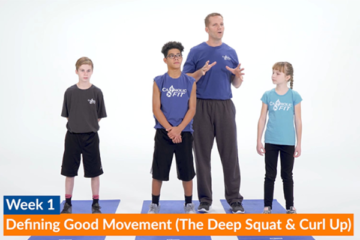 CatholicFIT Week 1 Exercise: Deep Squat Mobility & Curl Up Strength